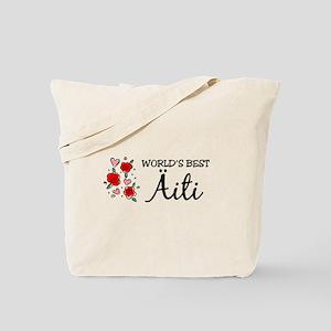 WB Mom [Finnish] Tote Bag
